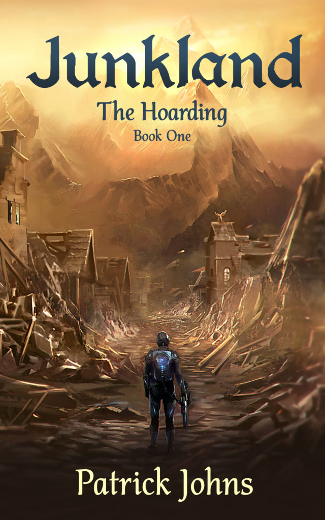 Junkland (The Hoarding) Book Cover - by Author Patrick Johns