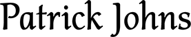 Patrick Johns Logo